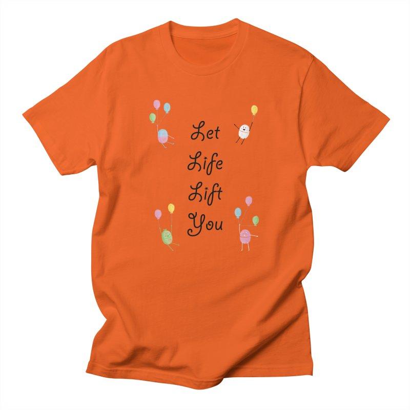 Companions - Let Life Lift You Women's Regular Unisex T-Shirt by Rachel Yelding | enchantedviolin