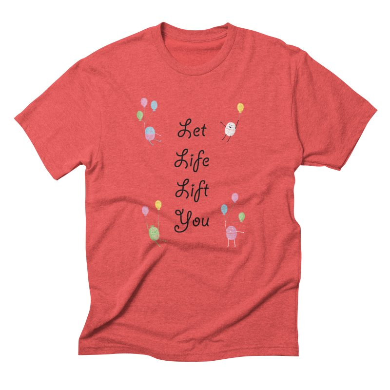 Companions - Let Life Lift You Men's Triblend T-Shirt by Rachel Yelding | enchantedviolin