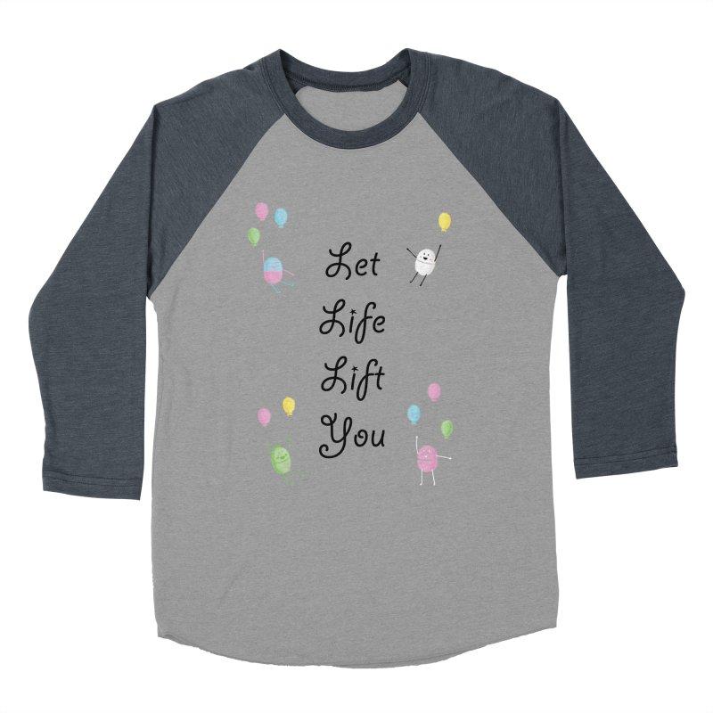 Companions - Let Life Lift You Men's Baseball Triblend Longsleeve T-Shirt by Rachel Yelding | enchantedviolin