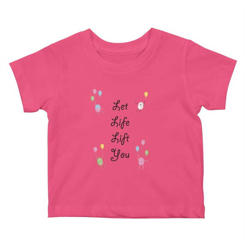 Companions - Let Life Lift You Kids Baby T-Shirt by Rachel Yelding | enchantedviolin