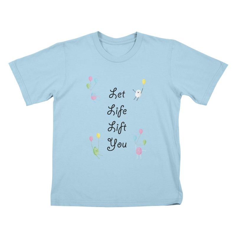 Companions - Let Life Lift You Kids T-Shirt by Rachel Yelding | enchantedviolin