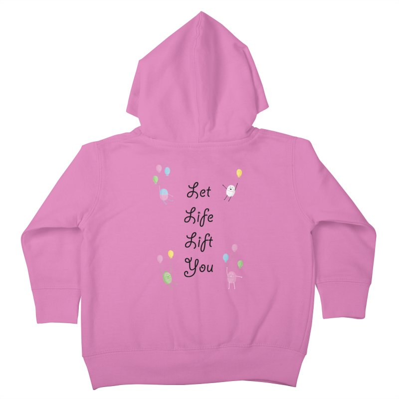 Companions - Let Life Lift You Kids Toddler Zip-Up Hoody by Rachel Yelding | enchantedviolin