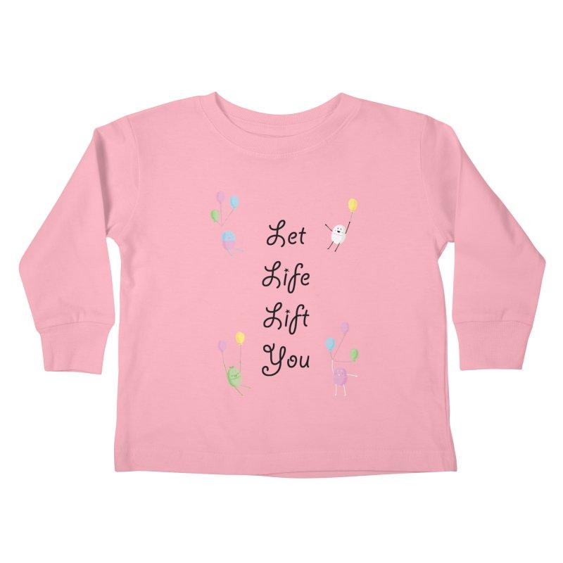 Companions - Let Life Lift You Kids Toddler Longsleeve T-Shirt by Rachel Yelding | enchantedviolin