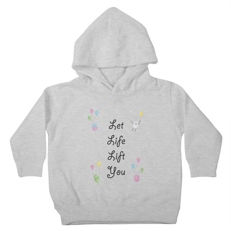 Companions - Let Life Lift You Kids Toddler Pullover Hoody by Rachel Yelding | enchantedviolin