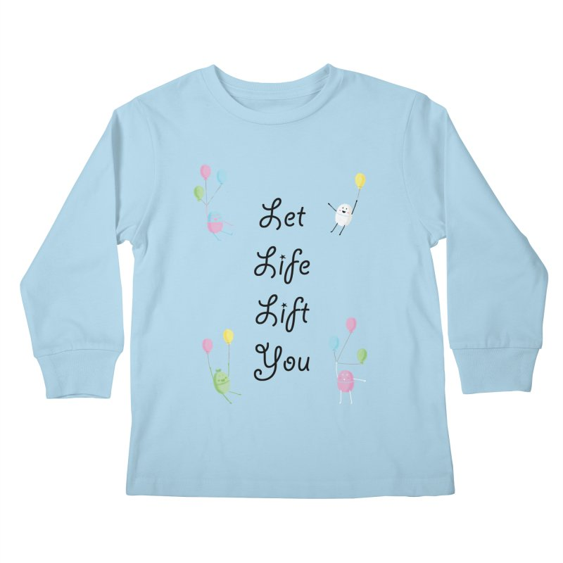Companions - Let Life Lift You Kids Longsleeve T-Shirt by Rachel Yelding | enchantedviolin
