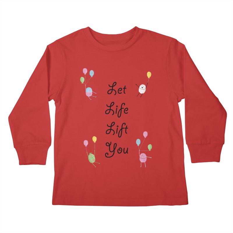 Companions - Let Life Lift You Kids Longsleeve T-Shirt by Rachel Yelding | enchantedviolin
