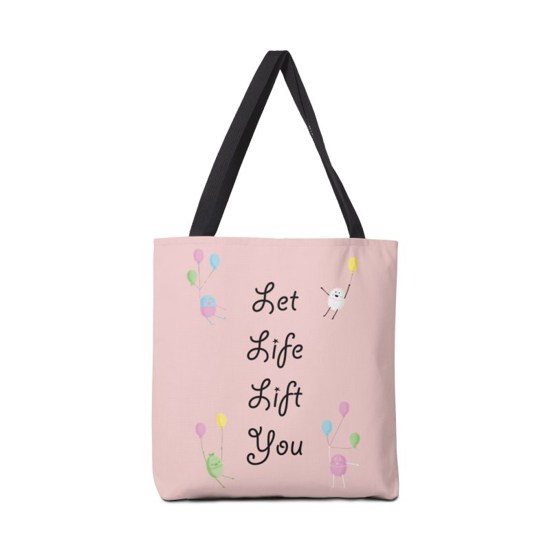 Companions - Let Life Lift You Accessories Bag by Rachel Yelding | enchantedviolin