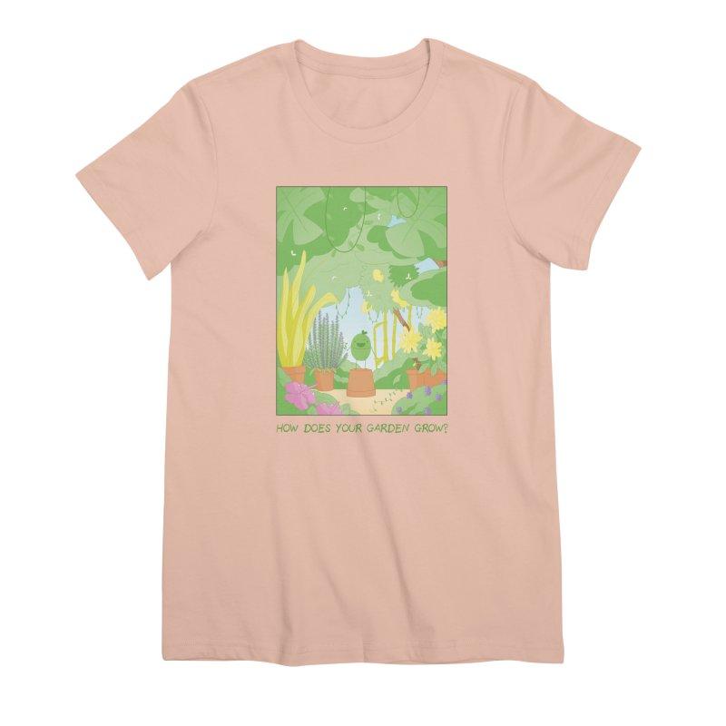 Companions - How Does Your Garden Grow? Women's Premium T-Shirt by Rachel Yelding | enchantedviolin
