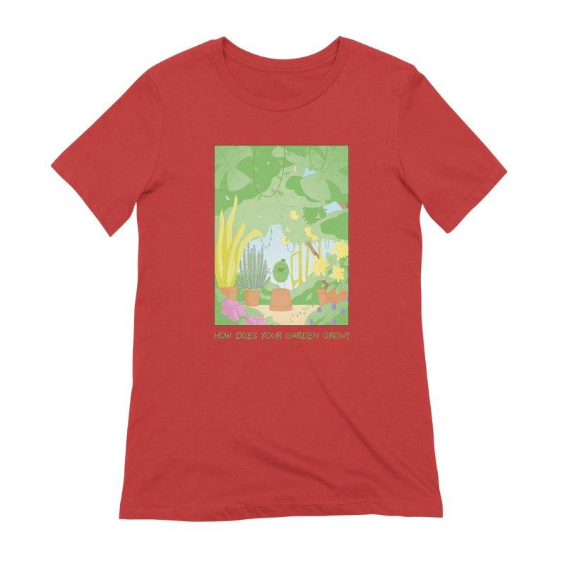 Companions - How Does Your Garden Grow? Women's Extra Soft T-Shirt by Rachel Yelding   enchantedviolin