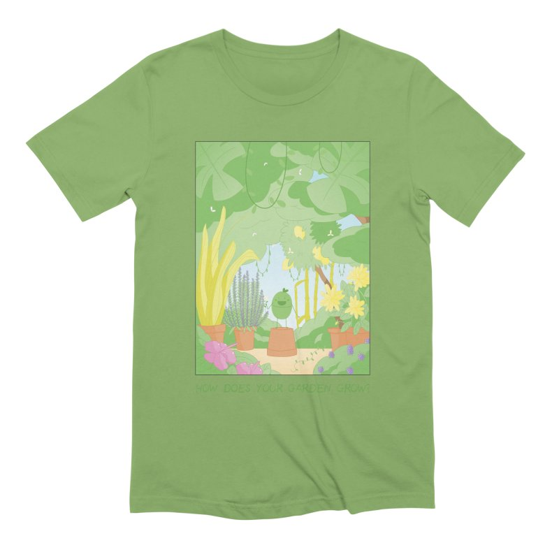 Companions - How Does Your Garden Grow? Men's Extra Soft T-Shirt by Rachel Yelding | enchantedviolin