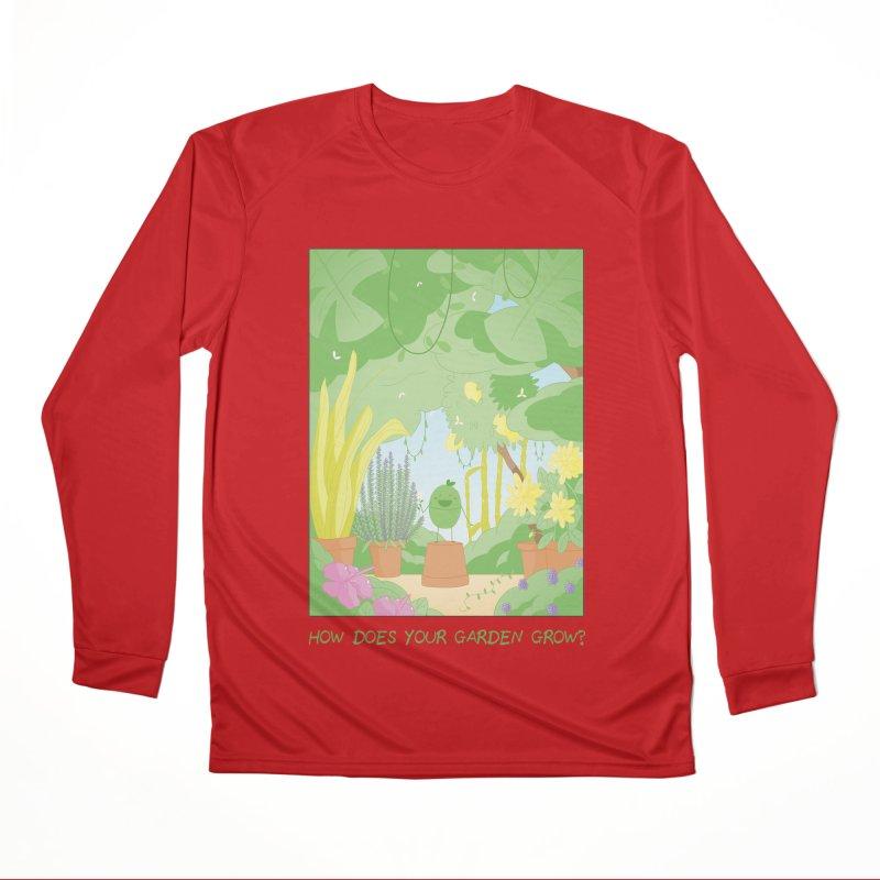 Companions - How Does Your Garden Grow? Men's Performance Longsleeve T-Shirt by Rachel Yelding | enchantedviolin