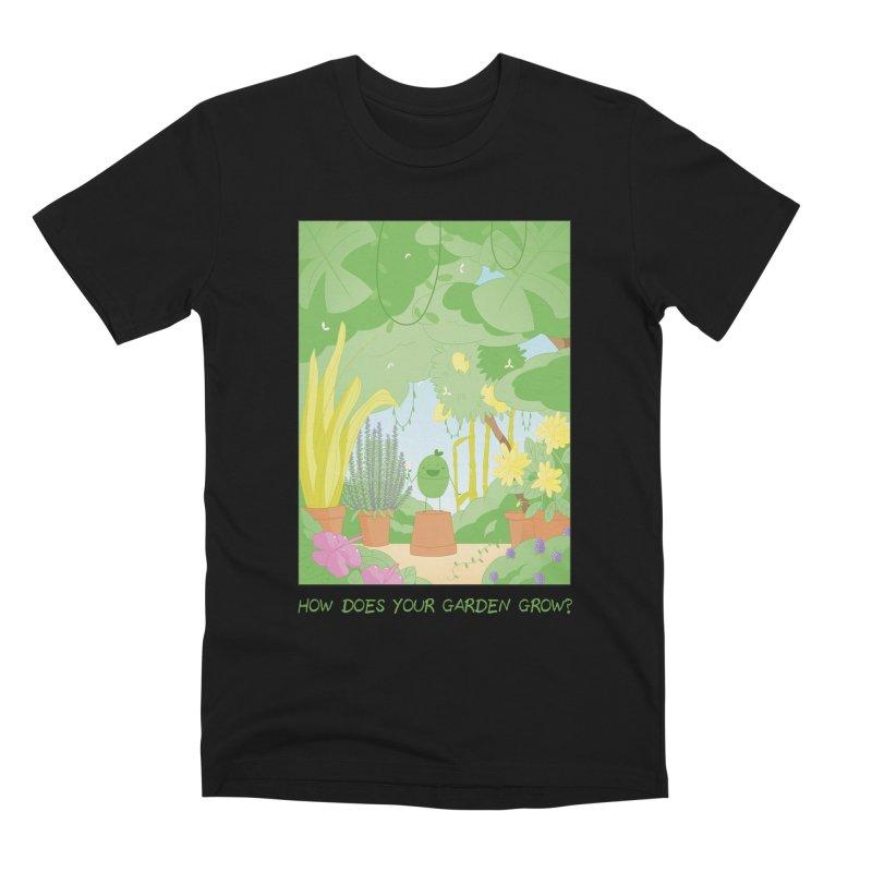 Companions - How Does Your Garden Grow? Men's Premium T-Shirt by Rachel Yelding   enchantedviolin