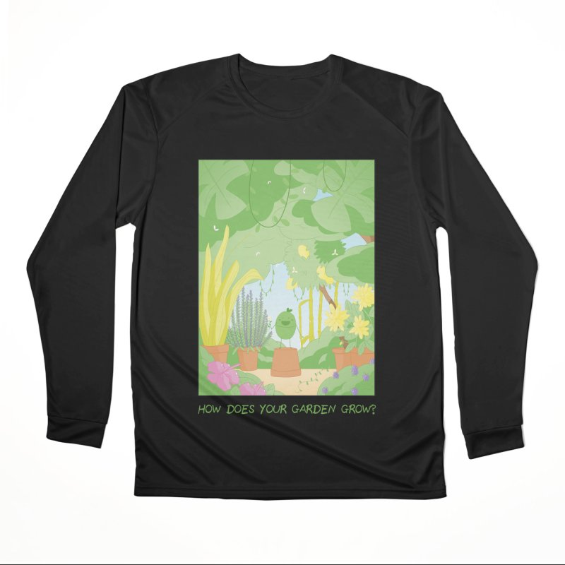 Companions - How Does Your Garden Grow? Women's Performance Unisex Longsleeve T-Shirt by Rachel Yelding | enchantedviolin