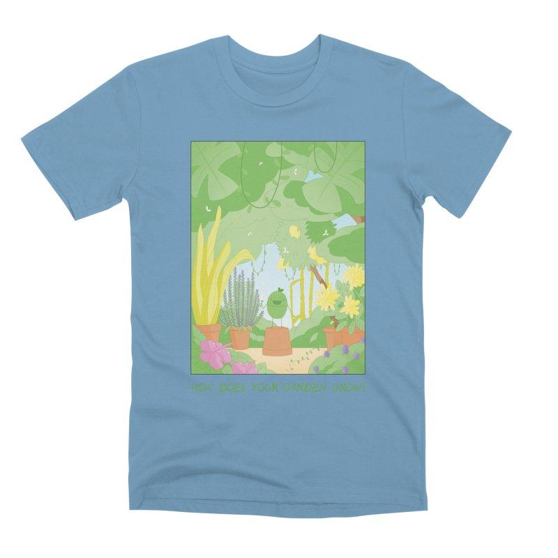 Companions - How Does Your Garden Grow? Men's Premium T-Shirt by Rachel Yelding | enchantedviolin