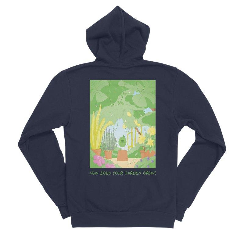 Companions - How Does Your Garden Grow? Men's Sponge Fleece Zip-Up Hoody by Rachel Yelding | enchantedviolin