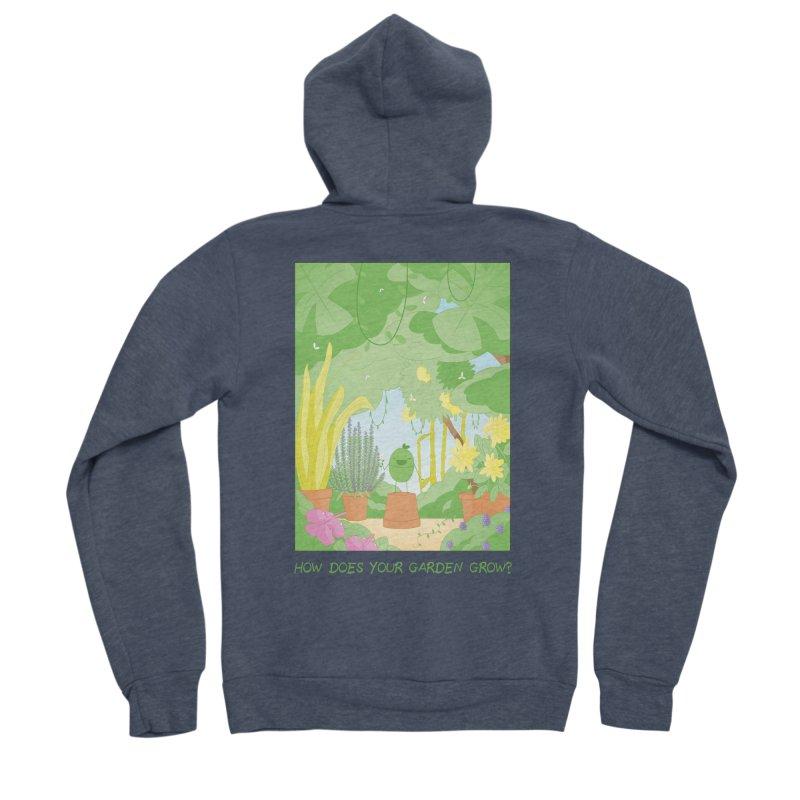Companions - How Does Your Garden Grow? Women's Sponge Fleece Zip-Up Hoody by Rachel Yelding | enchantedviolin