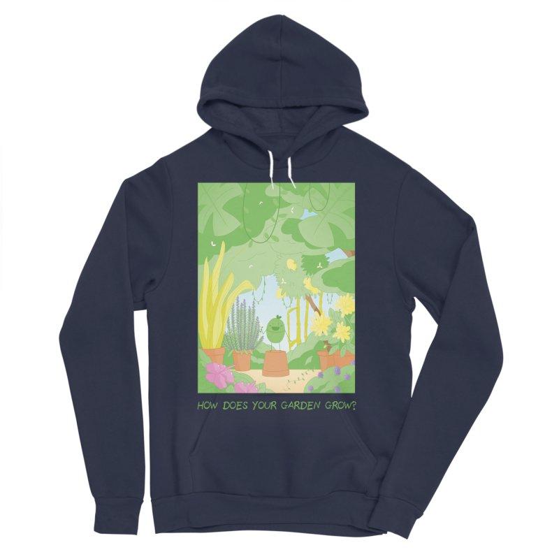 Companions - How Does Your Garden Grow? Men's Sponge Fleece Pullover Hoody by Rachel Yelding | enchantedviolin