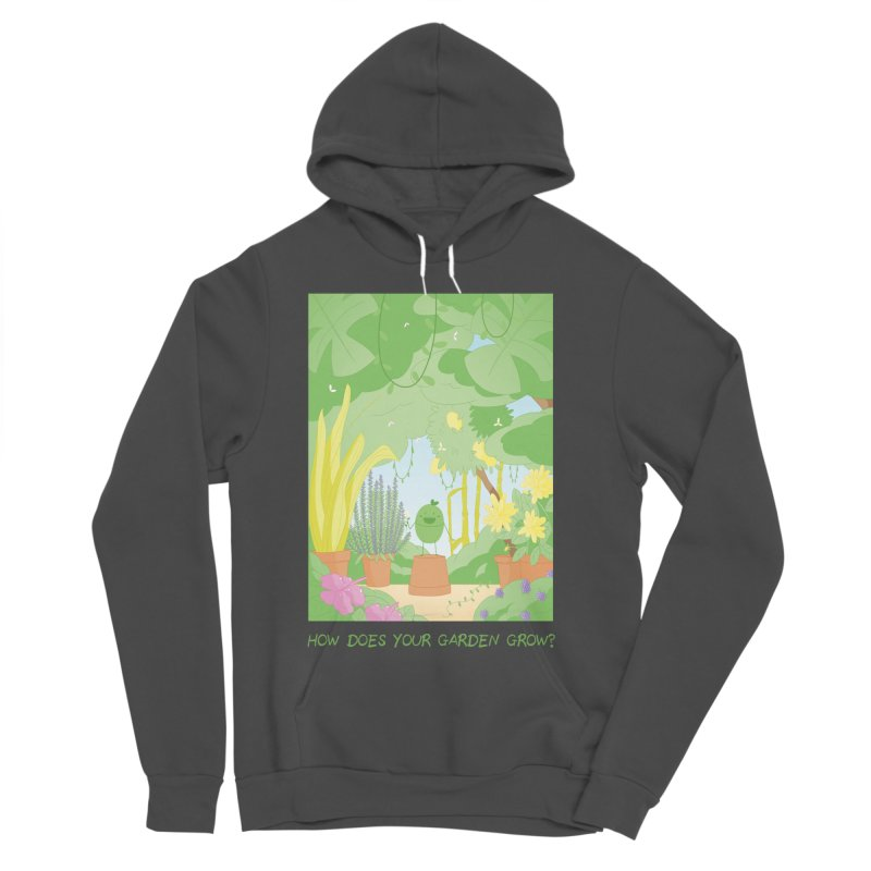 Companions - How Does Your Garden Grow? Women's Sponge Fleece Pullover Hoody by Rachel Yelding | enchantedviolin