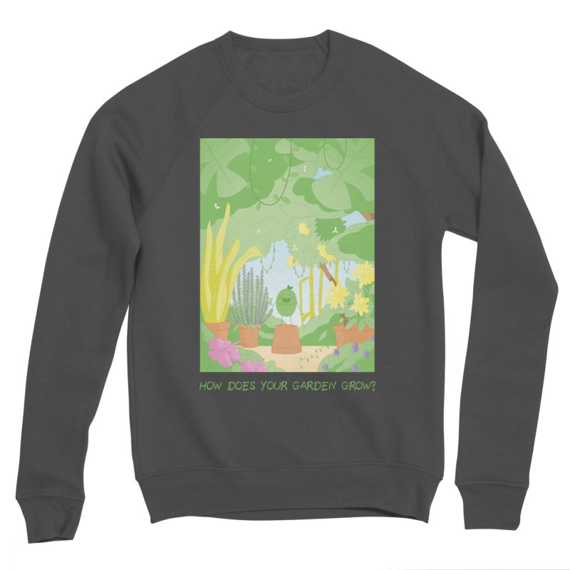 Companions - How Does Your Garden Grow? Women's Sponge Fleece Sweatshirt by Rachel Yelding | enchantedviolin