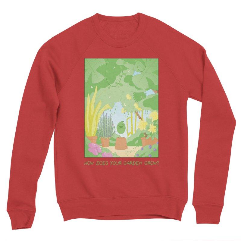 Companions - How Does Your Garden Grow? Men's Sponge Fleece Sweatshirt by Rachel Yelding   enchantedviolin