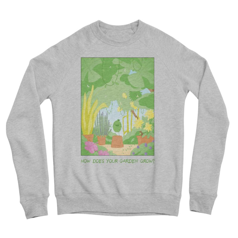 Companions - How Does Your Garden Grow? Men's Sponge Fleece Sweatshirt by Rachel Yelding | enchantedviolin