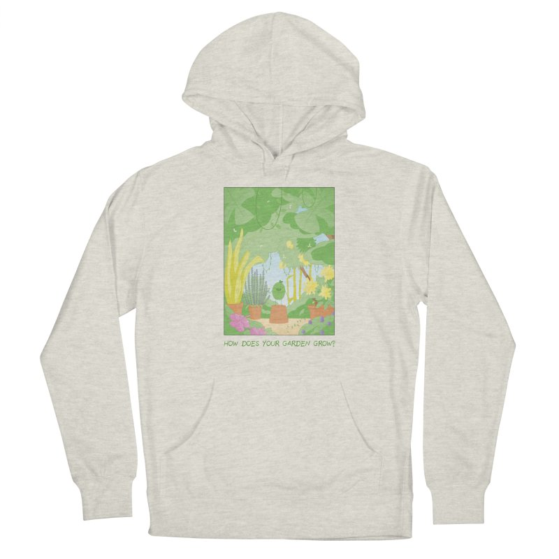 Companions - How Does Your Garden Grow? Men's French Terry Pullover Hoody by Rachel Yelding | enchantedviolin