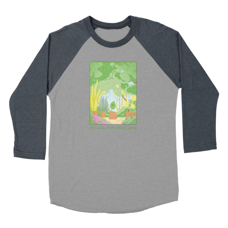 Companions - How Does Your Garden Grow? Men's Baseball Triblend Longsleeve T-Shirt by Rachel Yelding | enchantedviolin
