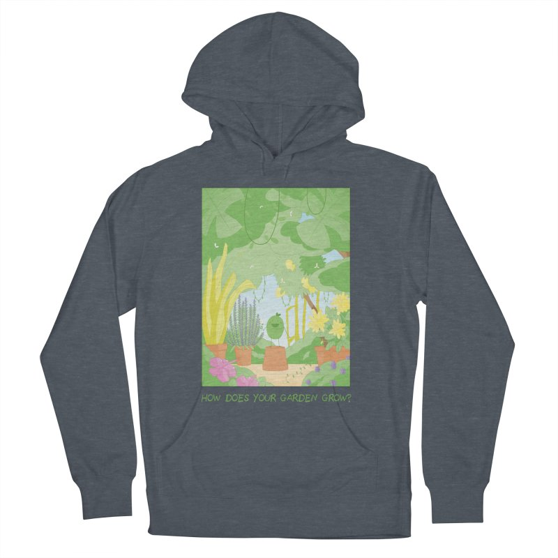 Companions - How Does Your Garden Grow? Men's French Terry Pullover Hoody by Rachel Yelding   enchantedviolin