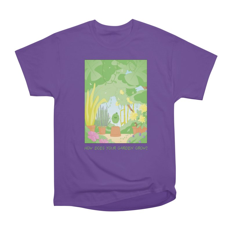 Companions - How Does Your Garden Grow? Men's Heavyweight T-Shirt by Rachel Yelding | enchantedviolin