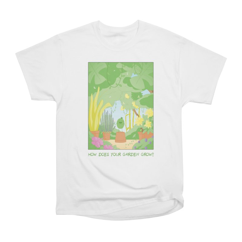Companions - How Does Your Garden Grow? Women's Heavyweight Unisex T-Shirt by Rachel Yelding | enchantedviolin
