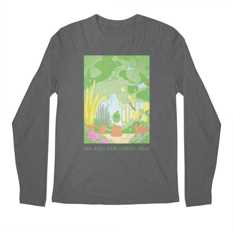 Companions - How Does Your Garden Grow? Men's Longsleeve T-Shirt by Rachel Yelding | enchantedviolin