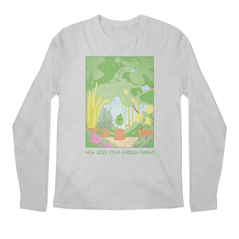 Companions - How Does Your Garden Grow? Men's Regular Longsleeve T-Shirt by Rachel Yelding | enchantedviolin