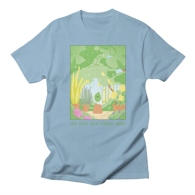 Companions - How Does Your Garden Grow? Men's Regular T-Shirt by Rachel Yelding | enchantedviolin