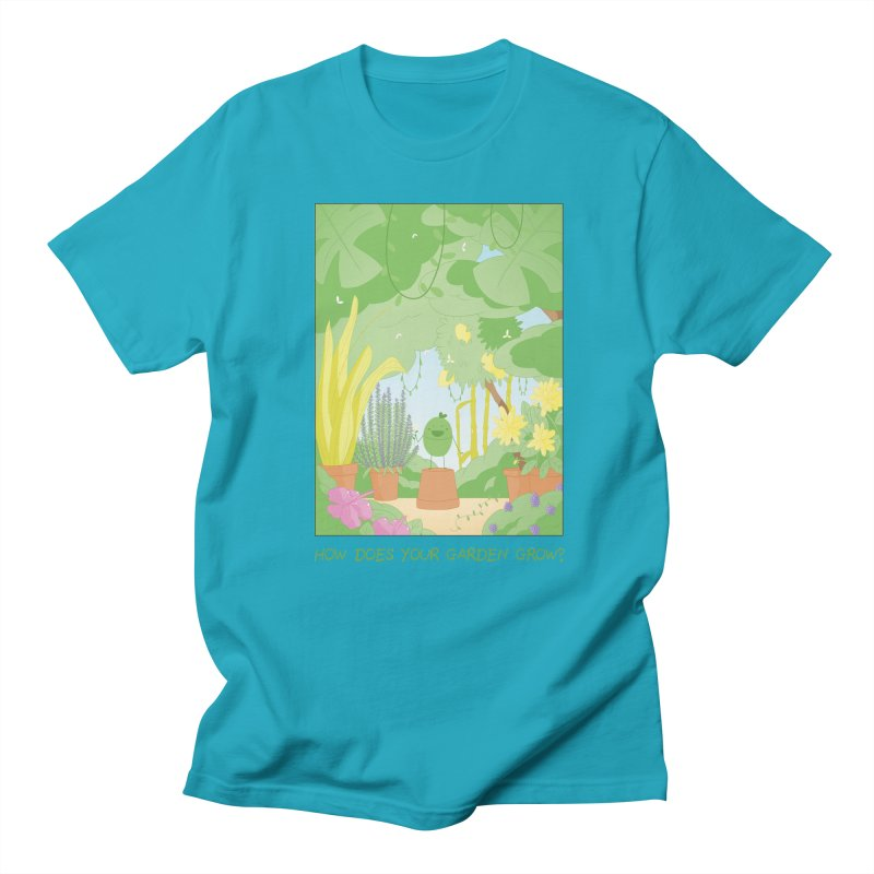Companions - How Does Your Garden Grow? Women's Regular Unisex T-Shirt by Rachel Yelding   enchantedviolin