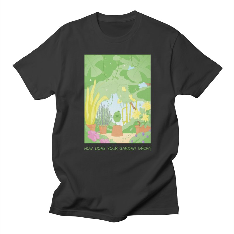 Companions - How Does Your Garden Grow? Men's T-Shirt by Rachel Yelding | enchantedviolin