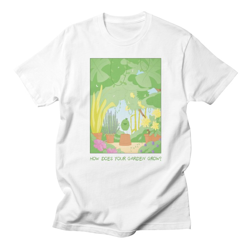 Companions - How Does Your Garden Grow? Women's Regular Unisex T-Shirt by Rachel Yelding | enchantedviolin