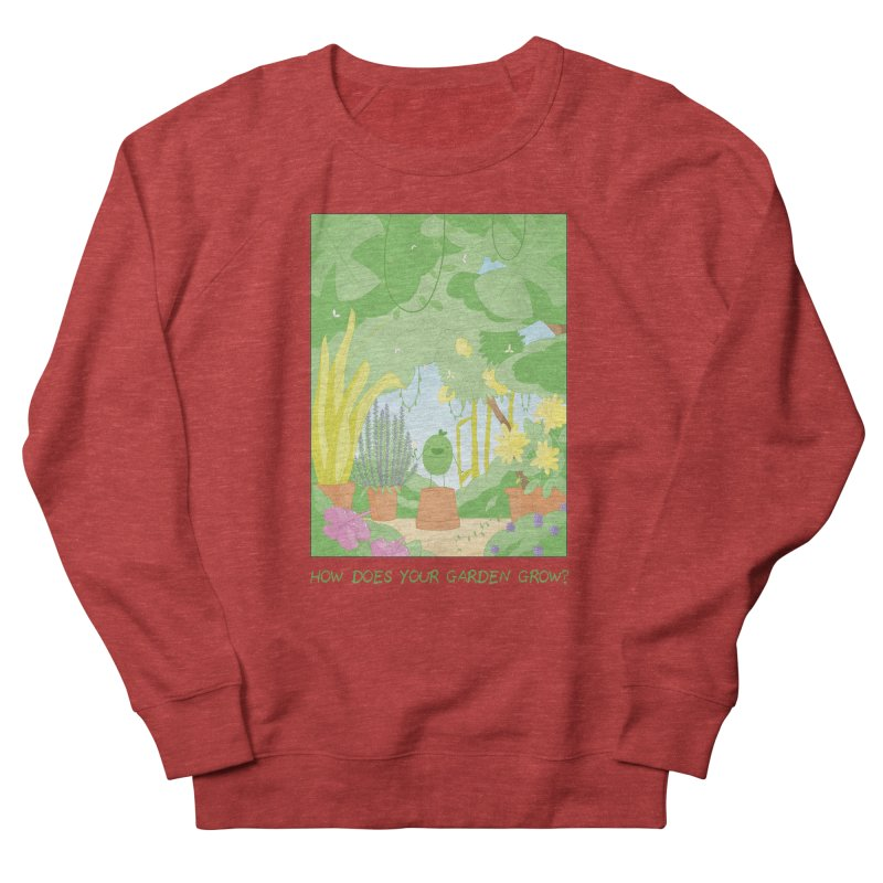 Companions - How Does Your Garden Grow? Women's French Terry Sweatshirt by Rachel Yelding | enchantedviolin