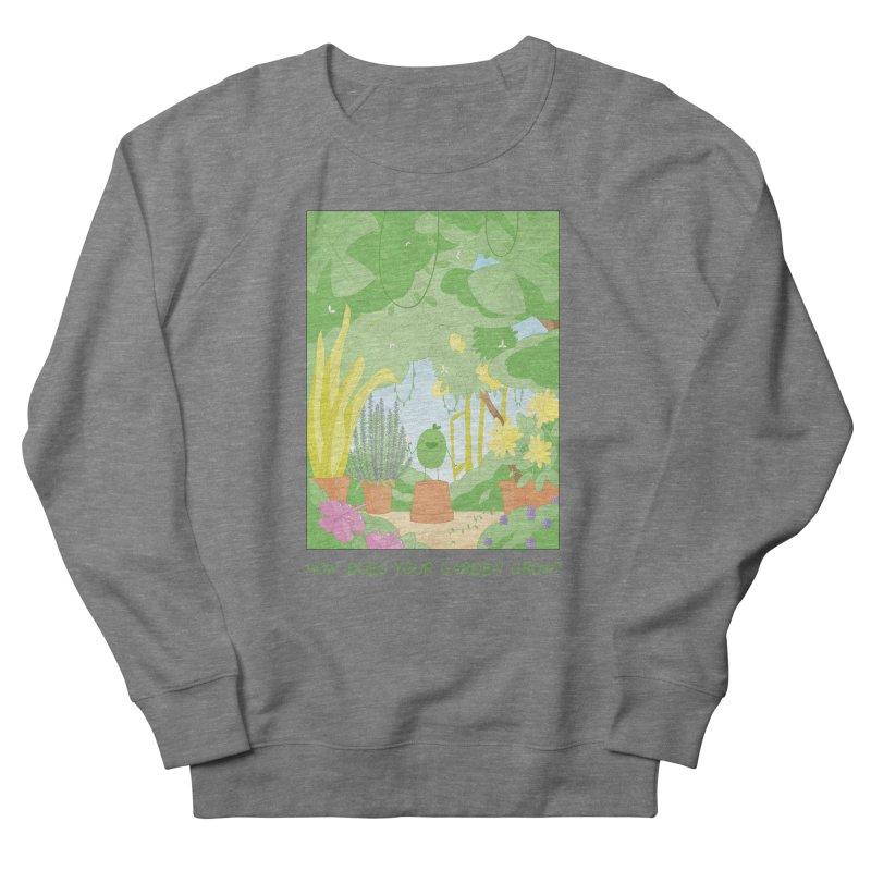 Companions - How Does Your Garden Grow? Men's French Terry Sweatshirt by Rachel Yelding | enchantedviolin
