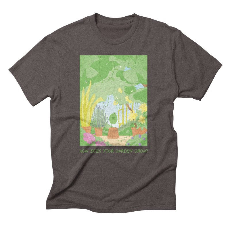 Companions - How Does Your Garden Grow? Men's Triblend T-Shirt by Rachel Yelding | enchantedviolin
