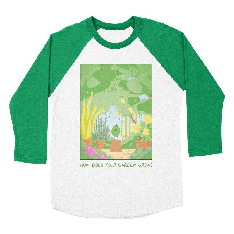 Companions - How Does Your Garden Grow? Women's Baseball Triblend Longsleeve T-Shirt by Rachel Yelding | enchantedviolin