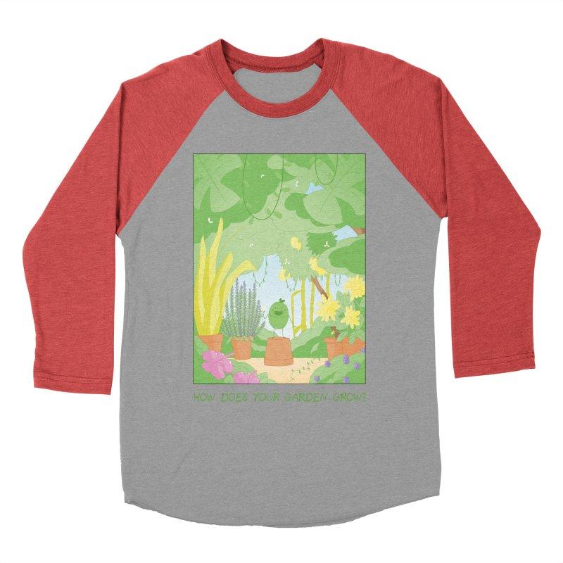Companions - How Does Your Garden Grow? Men's Baseball Triblend Longsleeve T-Shirt by Rachel Yelding   enchantedviolin