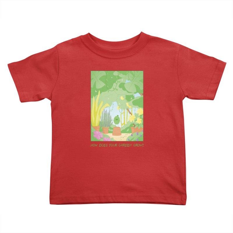 Companions - How Does Your Garden Grow? Kids Toddler T-Shirt by Rachel Yelding | enchantedviolin