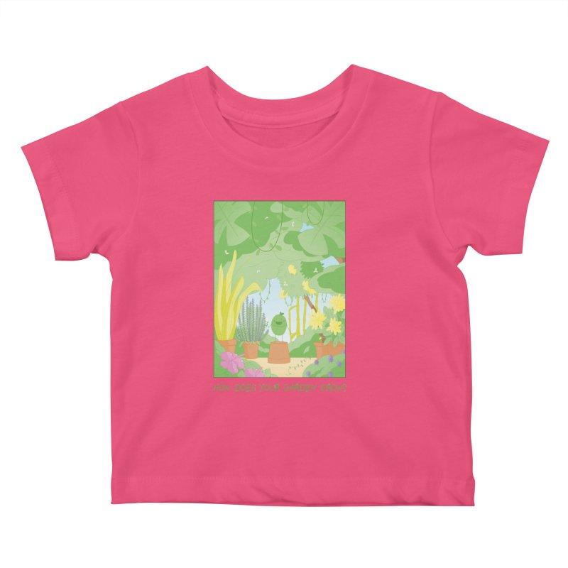 Companions - How Does Your Garden Grow? Kids Baby T-Shirt by Rachel Yelding | enchantedviolin