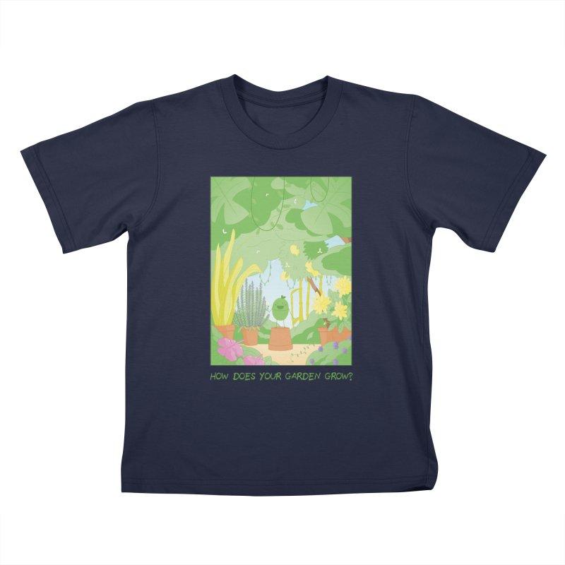 Companions - How Does Your Garden Grow? Kids T-Shirt by Rachel Yelding | enchantedviolin