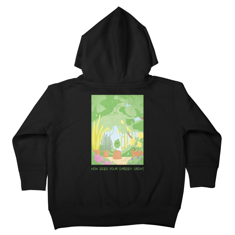 Companions - How Does Your Garden Grow? Kids Toddler Zip-Up Hoody by Rachel Yelding   enchantedviolin