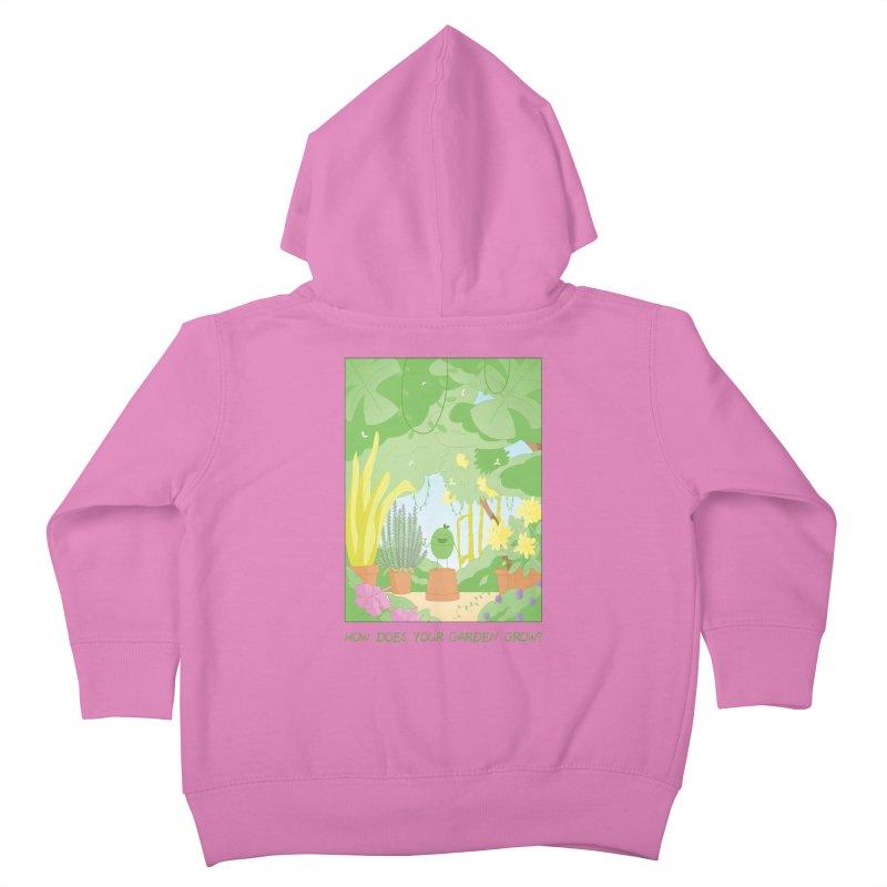Companions - How Does Your Garden Grow? Kids Toddler Zip-Up Hoody by Rachel Yelding | enchantedviolin