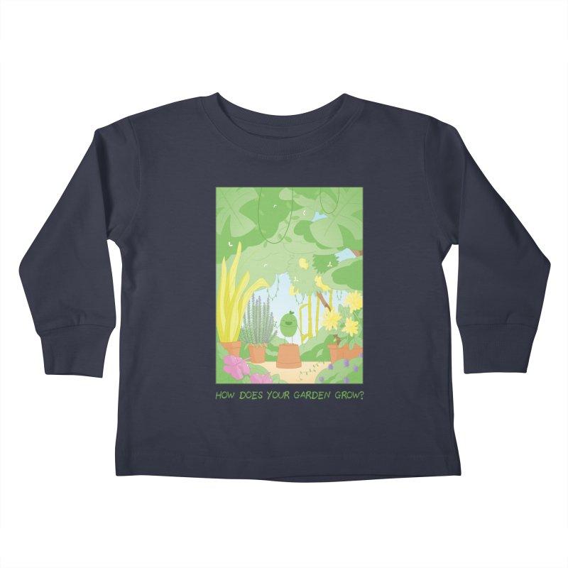 Companions - How Does Your Garden Grow? Kids Toddler Longsleeve T-Shirt by Rachel Yelding | enchantedviolin