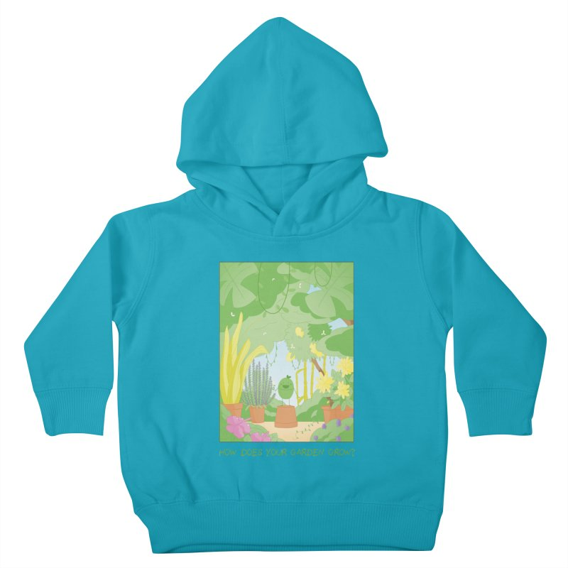 Companions - How Does Your Garden Grow? Kids Toddler Pullover Hoody by Rachel Yelding   enchantedviolin