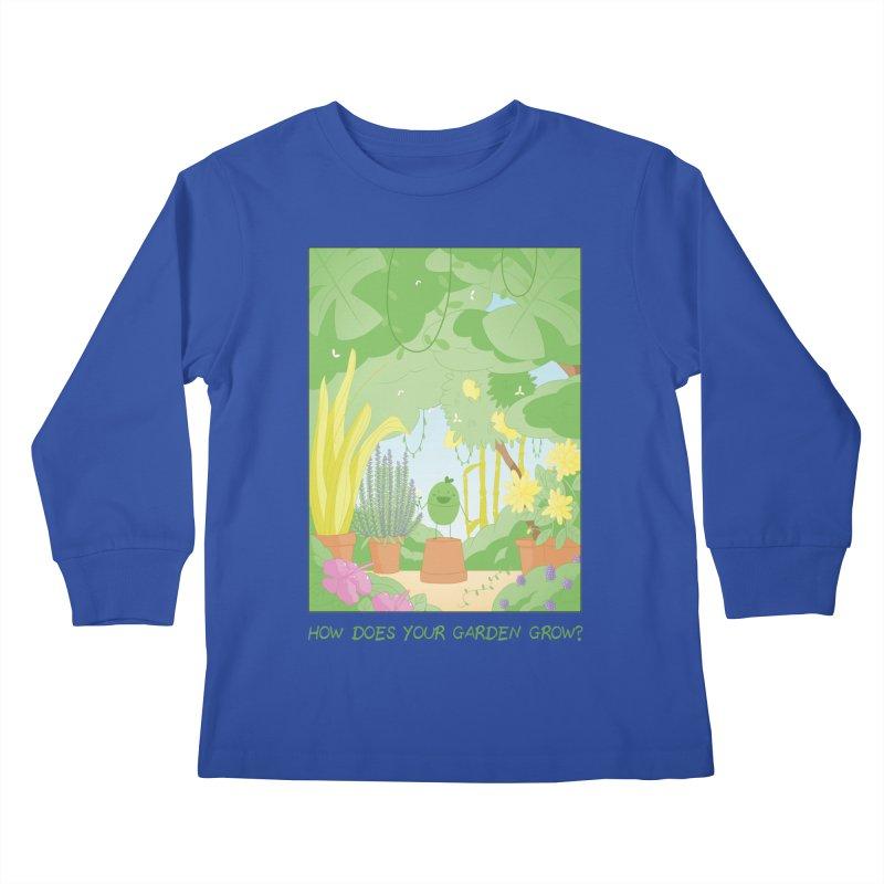 Companions - How Does Your Garden Grow? Kids Longsleeve T-Shirt by Rachel Yelding | enchantedviolin