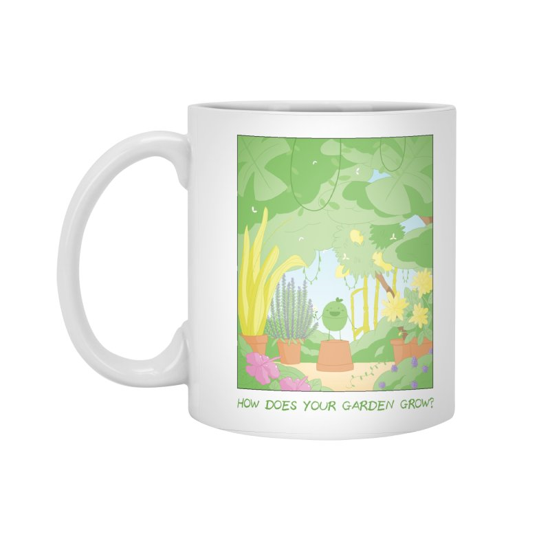Companions - How Does Your Garden Grow? Accessories Standard Mug by Rachel Yelding | enchantedviolin